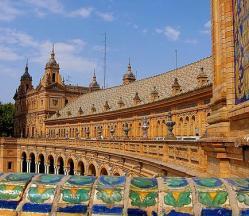 Séville : Plaza de Espana